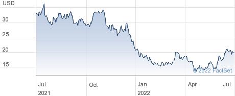 Replimune Group Inc performance chart