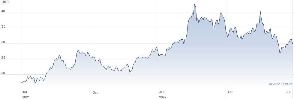 Warrior Met Coal Inc performance chart
