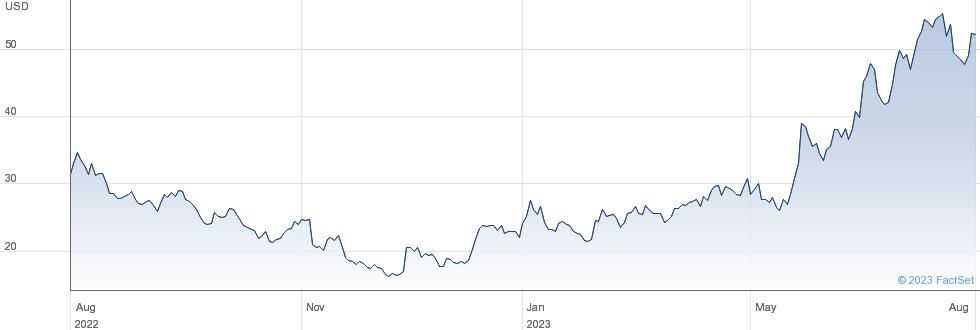 Schrodinger Inc performance chart