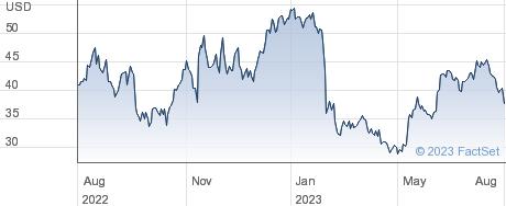Montrose Environmental Group Inc performance chart