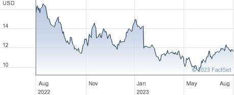 Dun & Bradstreet Holdings Inc performance chart