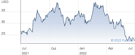 Bristow Group Inc performance chart