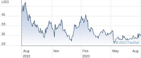 Dutch Bros Inc performance chart