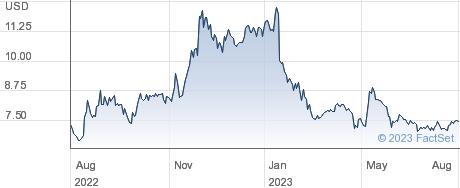 Geo Group Inc performance chart