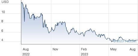 Rani Therapeutics Holdings Inc performance chart