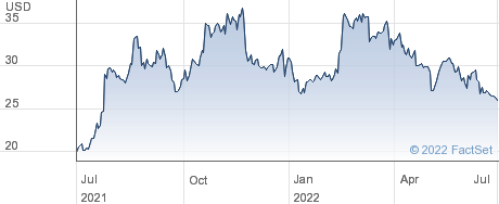 Albertsons Companies Inc performance chart